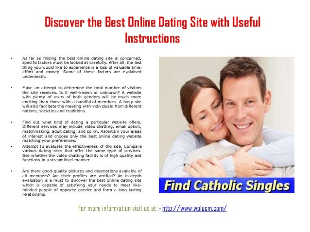 Best online dating quaility over 50