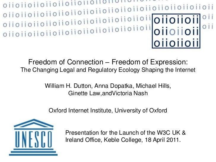 Freedom of Connection - Freedom of Expression