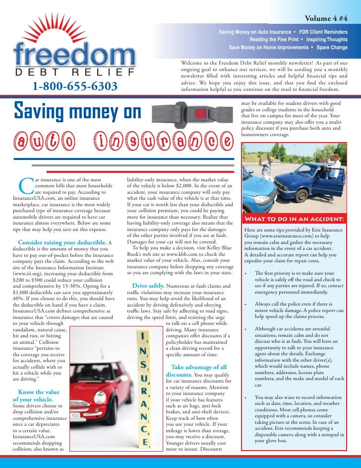Volume 4 #4                                                                                             Saving Money on Au...