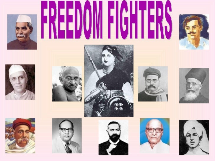 5 male freedom fighters of india in hindi