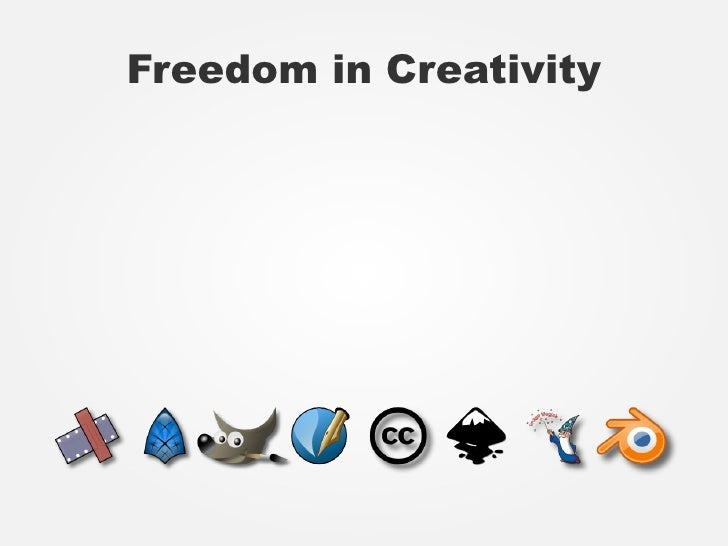 Freedom in Creativity