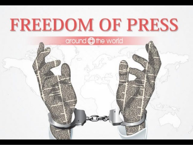 Freedom of Press around the World
