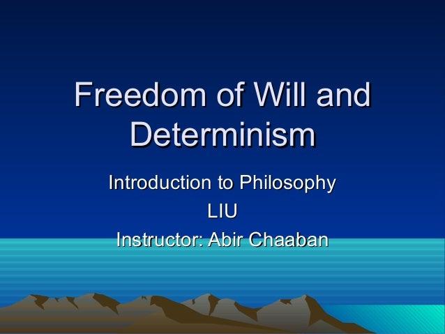 essays on determinism