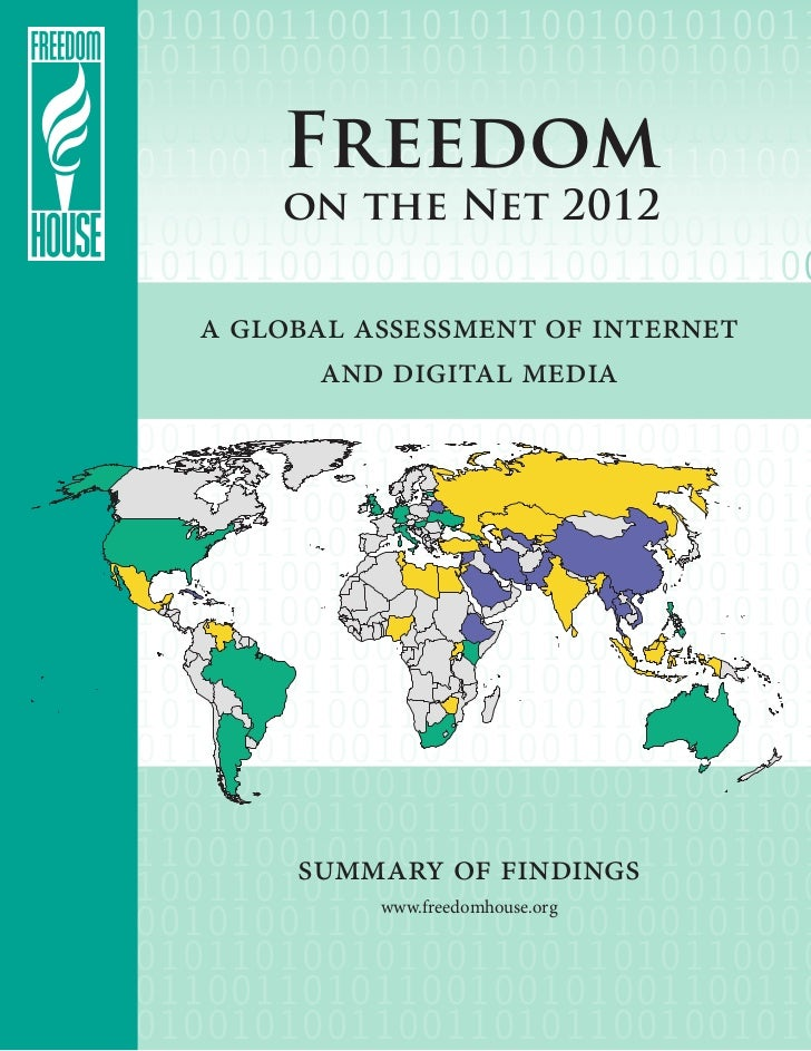 Freedom House: Freedom on the Internet 2012