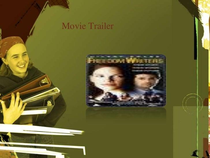 Freedom Writers-the movie?