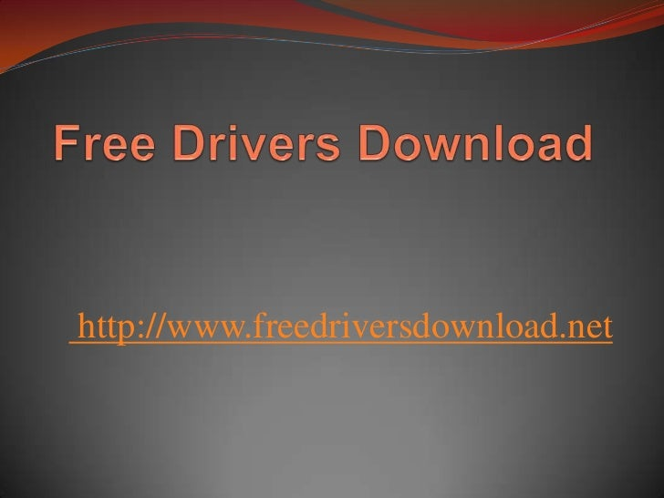 Update your driver with Free drivers download