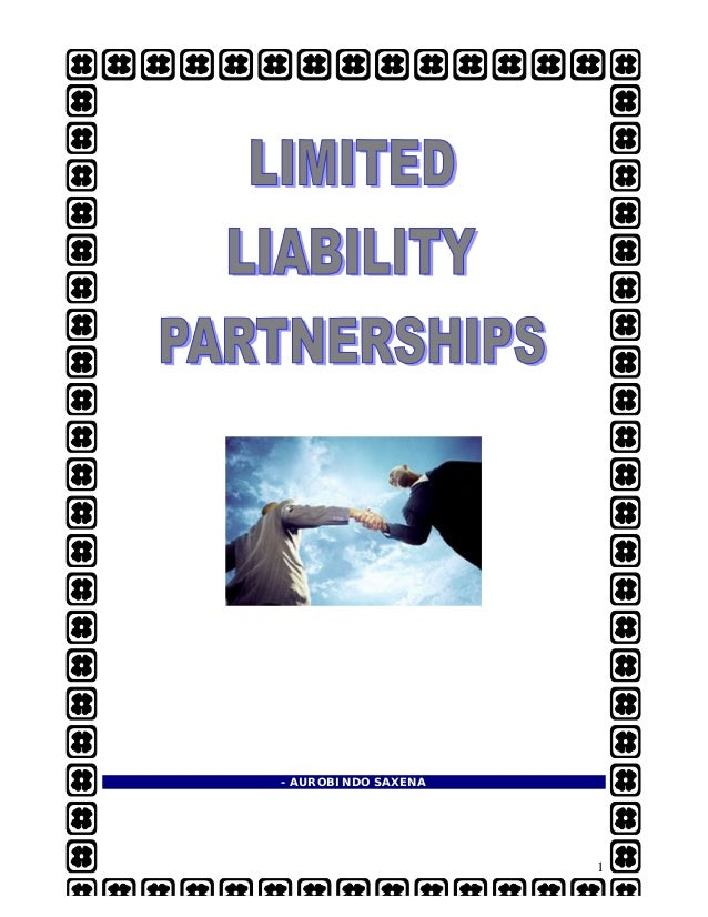limited liability partnership llp essay