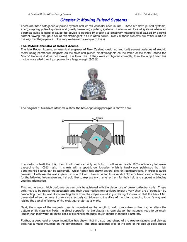 A Practical Guide to Free-Energy Devices                                              Author: Patrick J. Kelly            ...