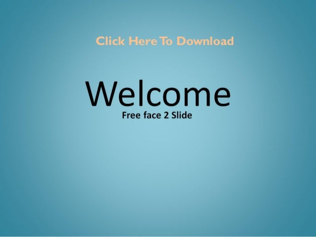 Free faces presentation slides templates and keynotes