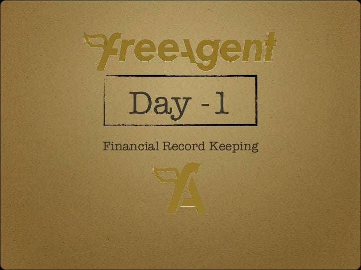 <ul><li>Financial Record Keeping </li></ul>