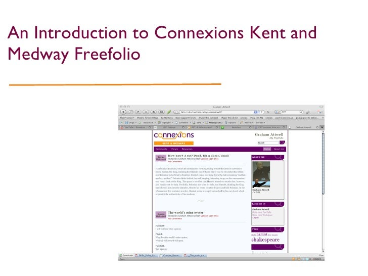 An Introduction to Connexions Kent and Medway Freefolio