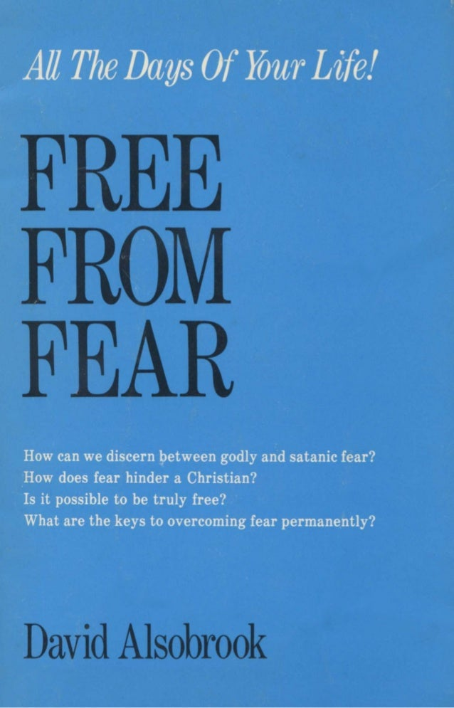 Free From FEAR - David Alsobrook