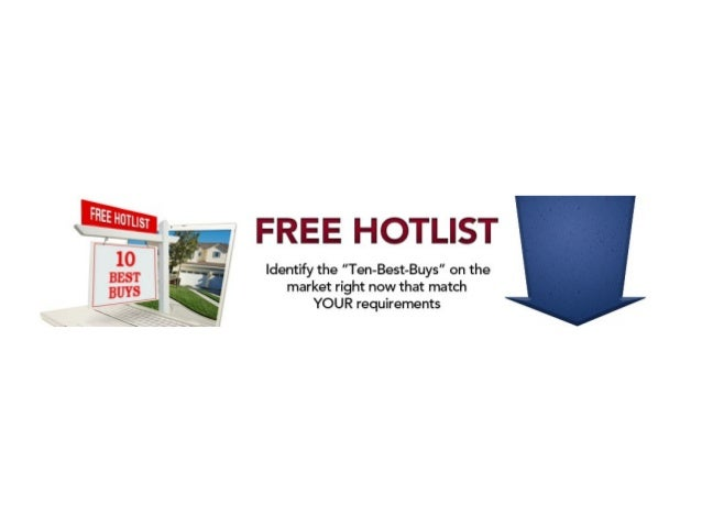 Free hotlist of 5 best buys