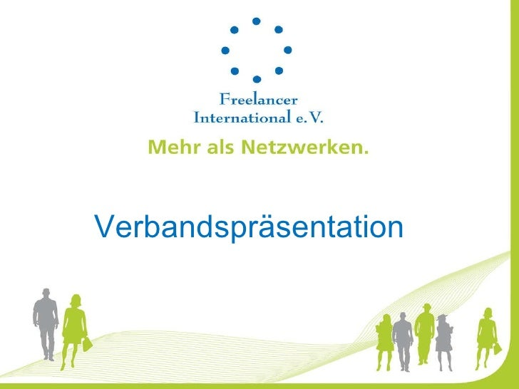 Verbandspräsentation