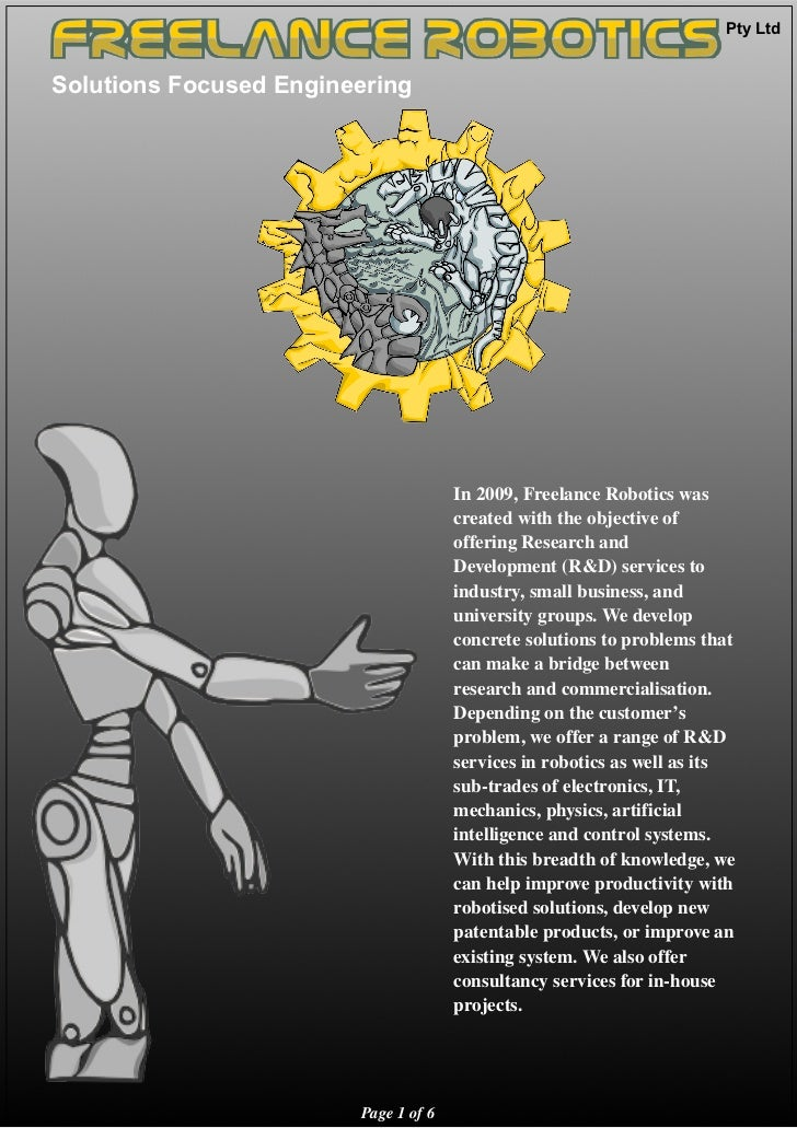 Freelance Robotics Company Profile V1 2