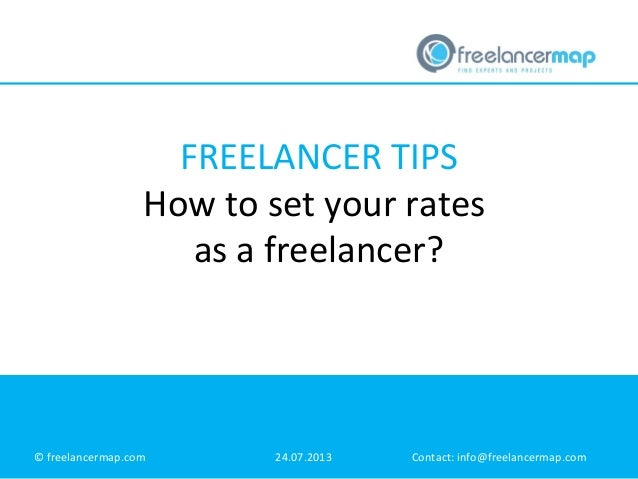 Freelancer tips: How to set your rates as a freelancer?