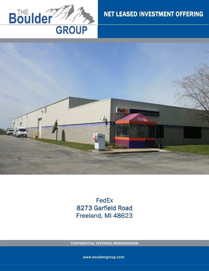 Single Tenant Fedex Property For Sale