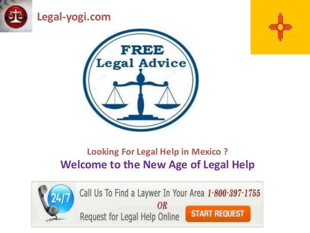 Free Legal Advice New Mexico - Legal Aid MX