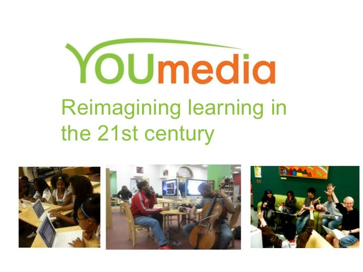 YOUmedia presentation at the Free Library of Philly