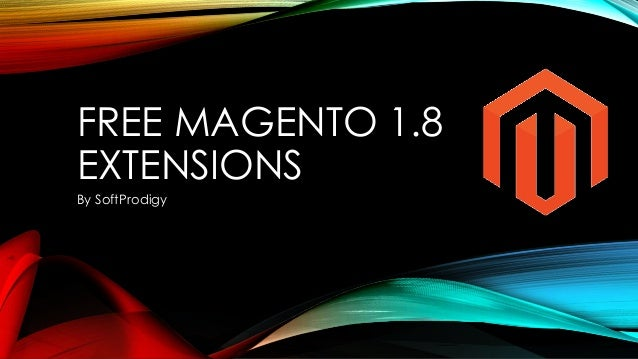 FREE MAGENTO 1.8 EXTENSIONS By SoftProdigy