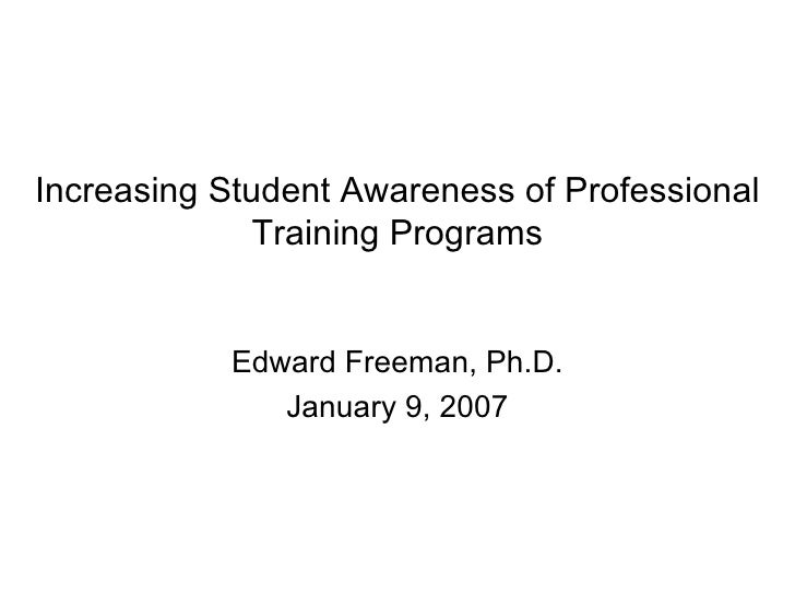 Professional Training Programs