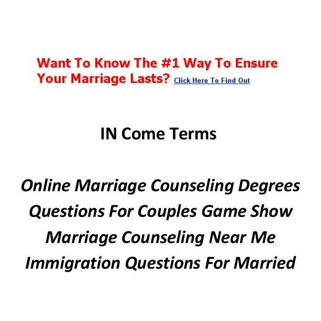 Free online marriage counseling worksheets