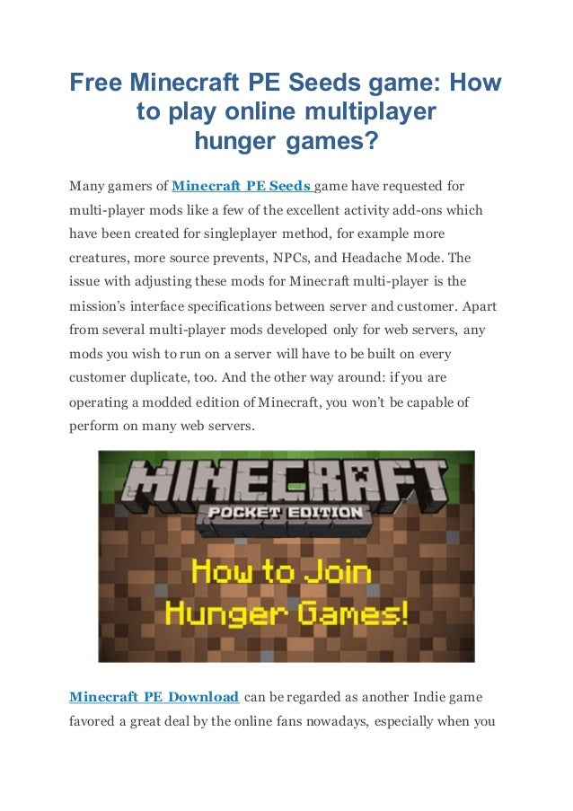 how to start a multiplayer game in minecraft
