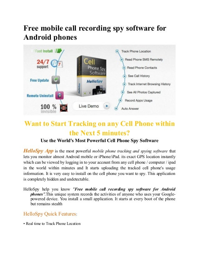 spy software for mobile tracking ios