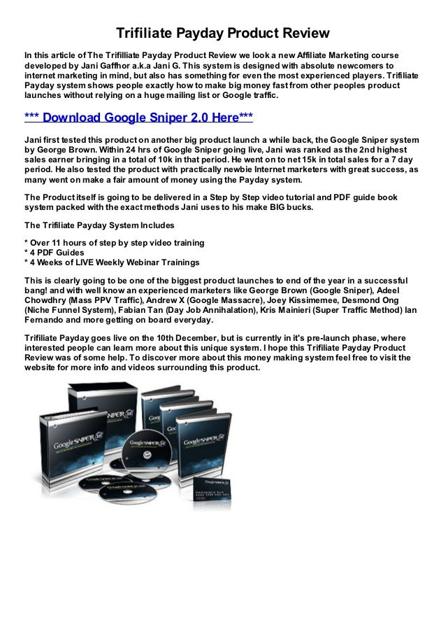 Free money making videos system for internet marketers
