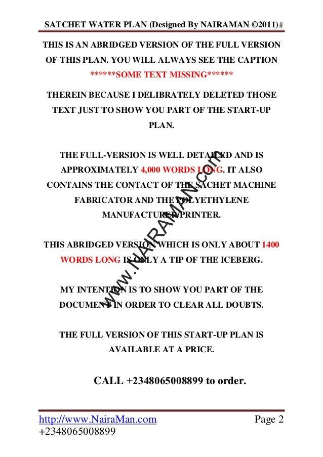 Abattoir business plan