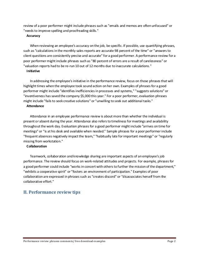 Dissertation On Performance Appraisal
