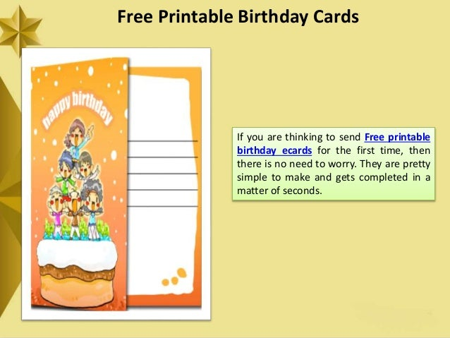 """Free Printable Birthday Ecards- An Electronic Way to Say """"Happy Birth…"""