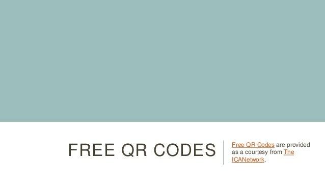 Free QR Codes