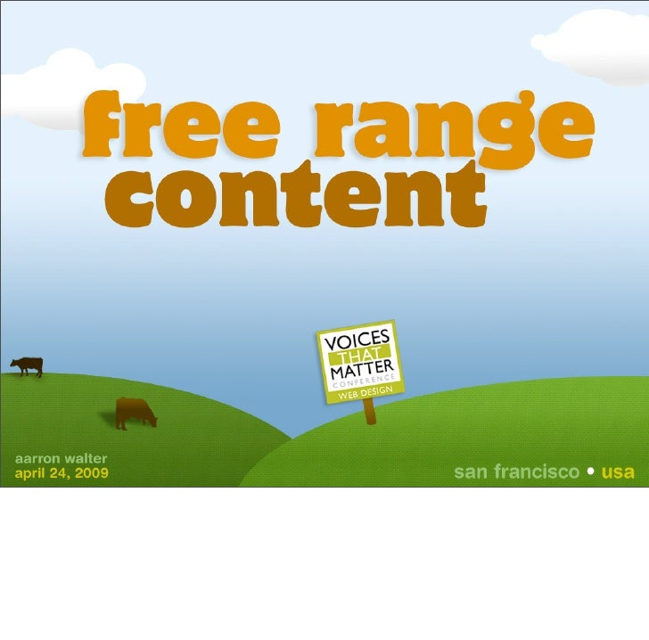 Free Range Content: Unlock Your Content to Increase Your Reach