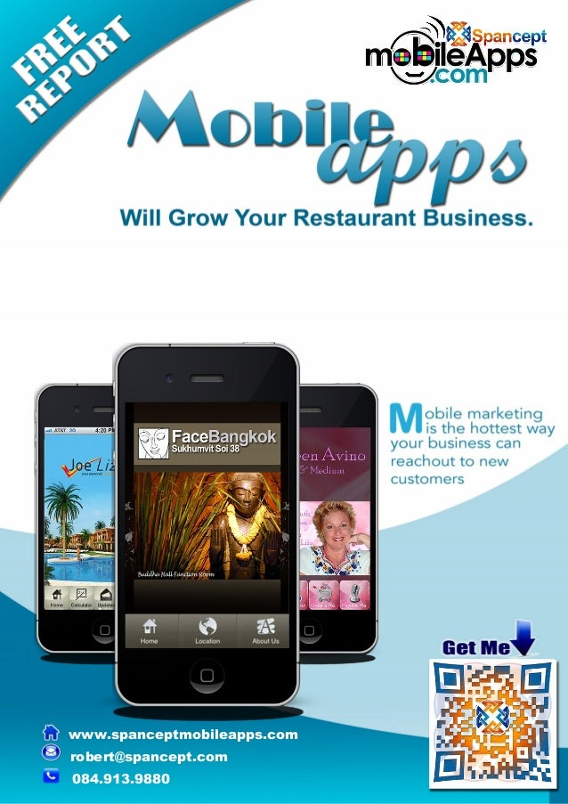 Free Report: Mobile Apps Will Grow Your Restaurant Business