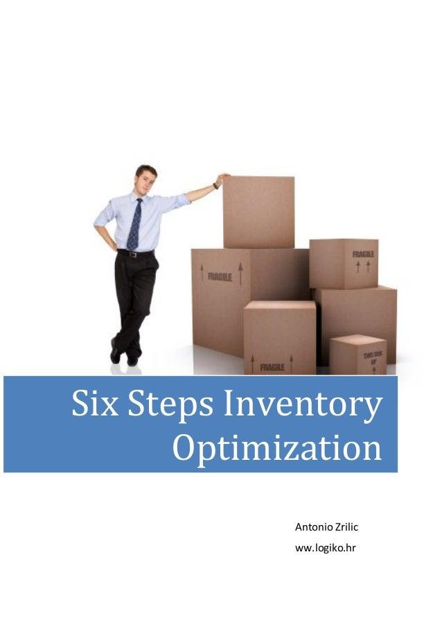 Antonio Zrilicww.logiko.hrSix Steps InventoryOptimization