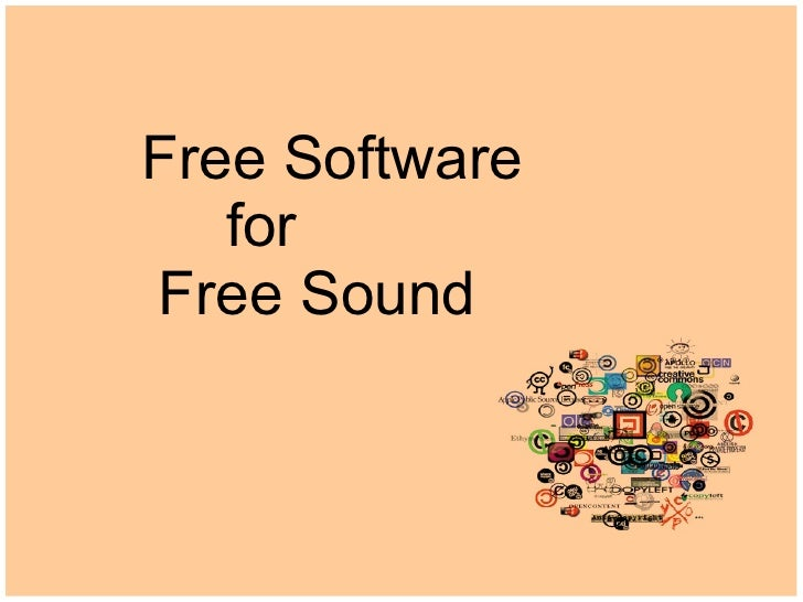 Free Software for Free Sound