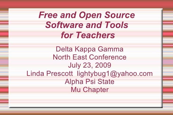 Free Software Presentation Dkg