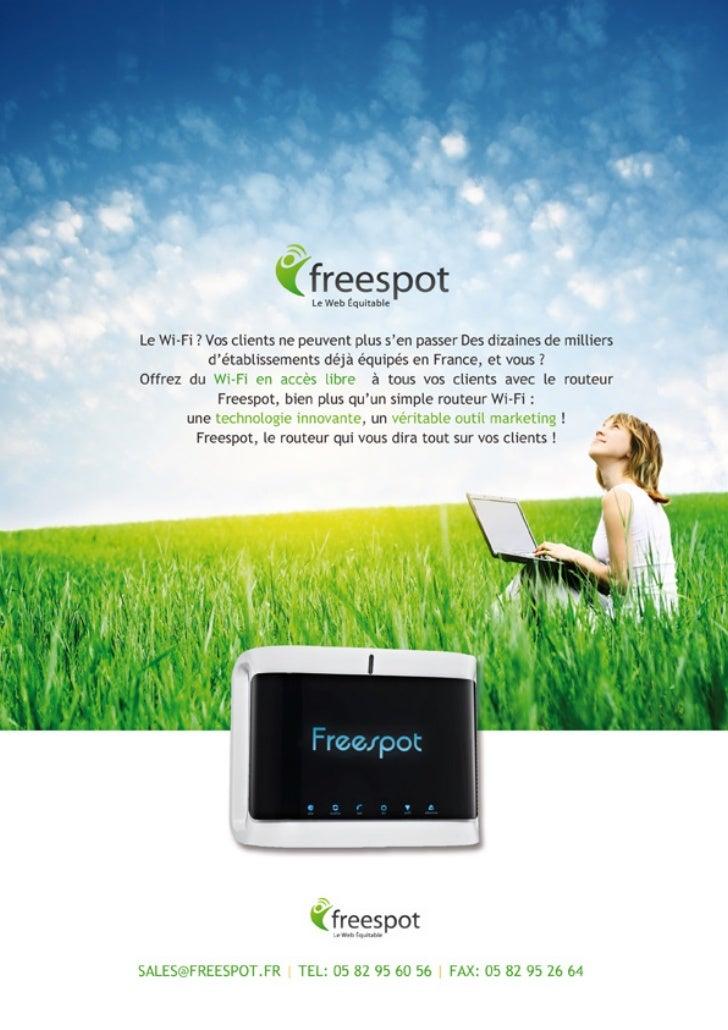 Freespot Le web Equitable