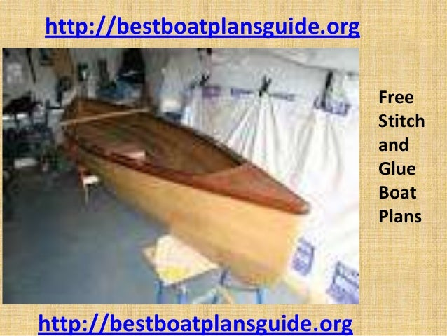 Free stitch and glue boat plans
