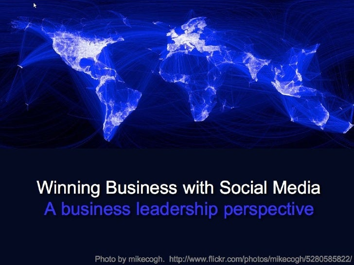 Social Media Business Leadership