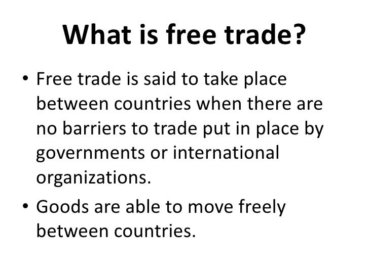 free trade agreement essay International trade is the modern framework of prosperity free trade policies open up new areas to competition and innovation free trade leads to better jobs, new.