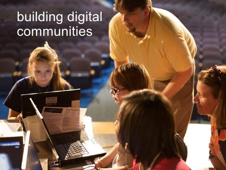 building digital communities
