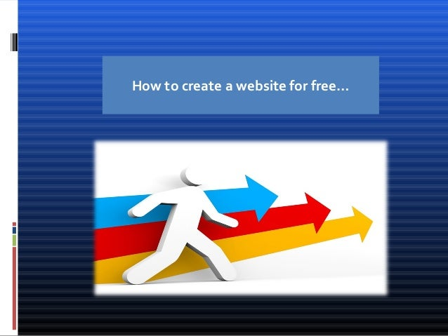 How to create a website for free…
