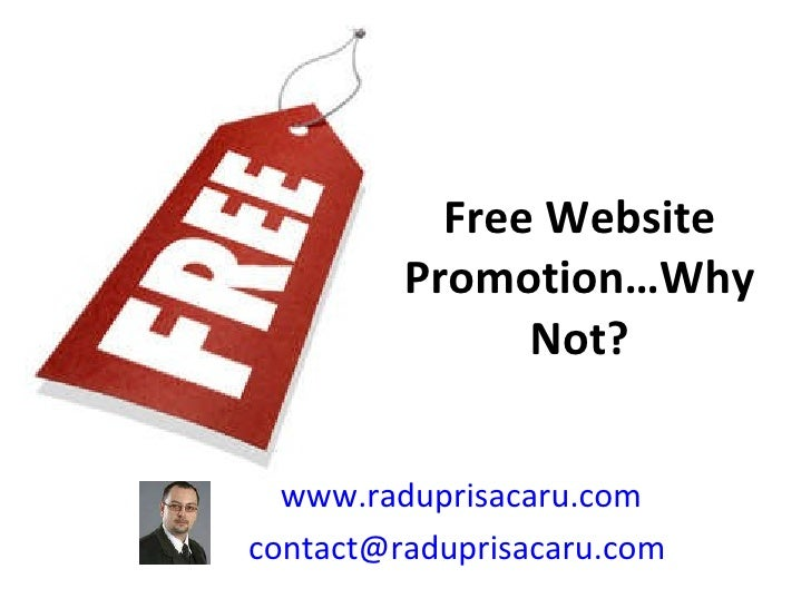 Free website promotion   www.raduprisacaru.com