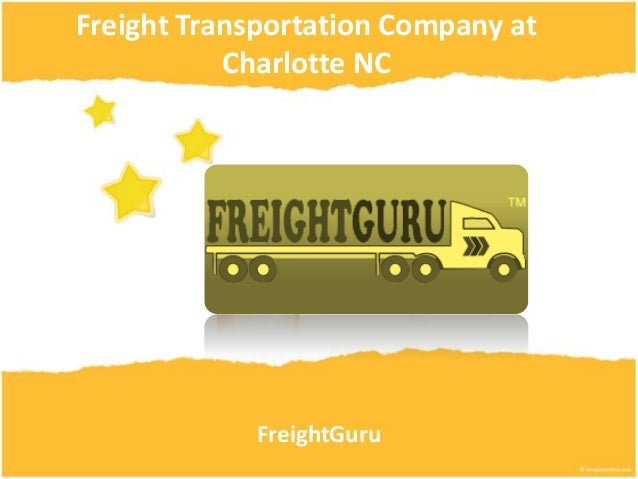 Freight transportation company at charlotte nc