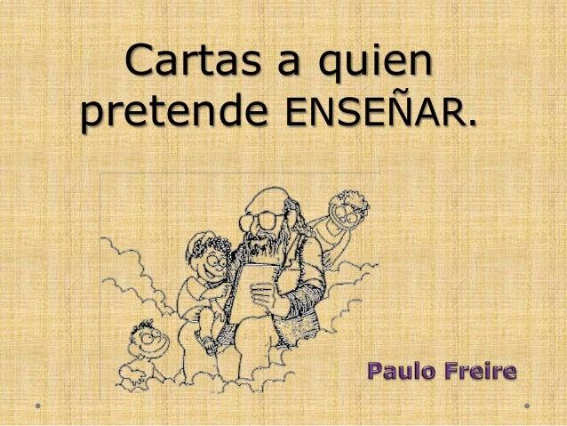 Freire cartas