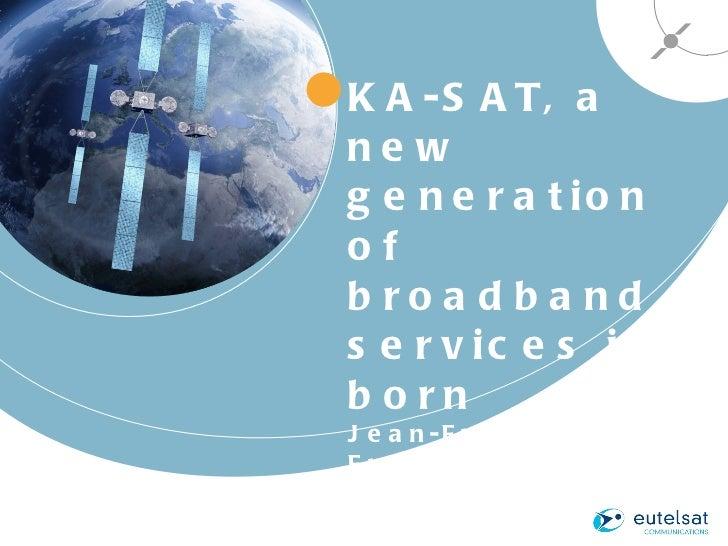 Mr Fremaux Eutelsat Broadband