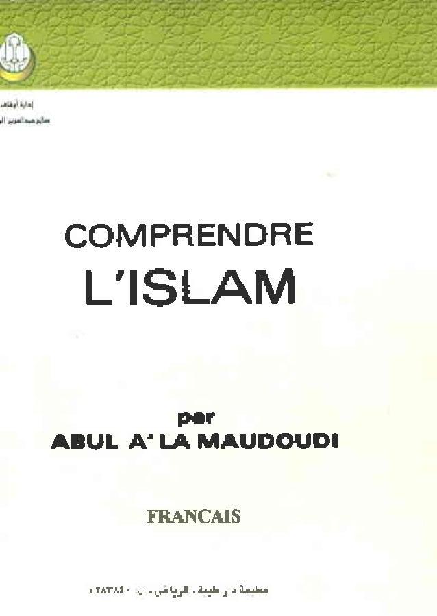 COMPRENDRE L'ISLAM MGsV par ABUL A'LA MAUDOUDI