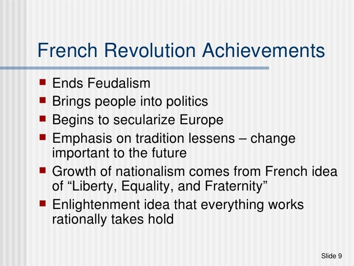 significance of the french revolution essay Intellectual debate news of the revolution in france received a mixed response  in britain in july 1789 'in every province of this great kingdom the flame of.